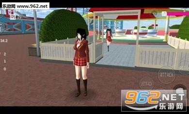 樱花校园模拟器电脑版v1.037.11截图1