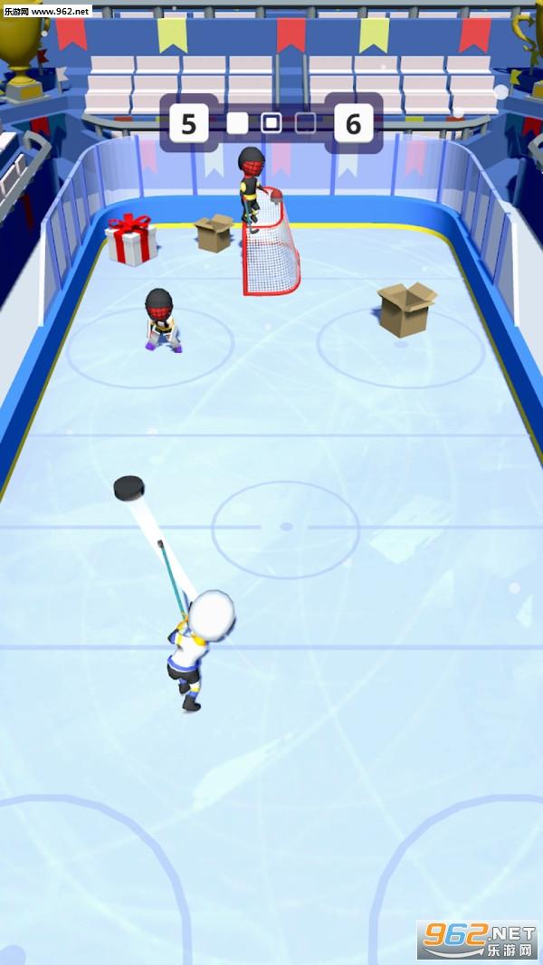 欢乐冰球安卓版v1.1_截图0