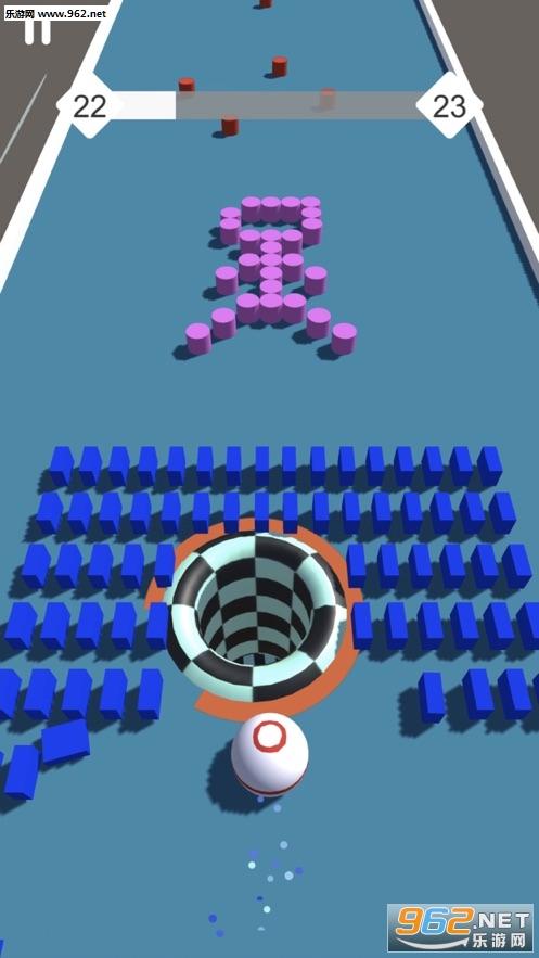 缺口球3D官方版v1.3截图1