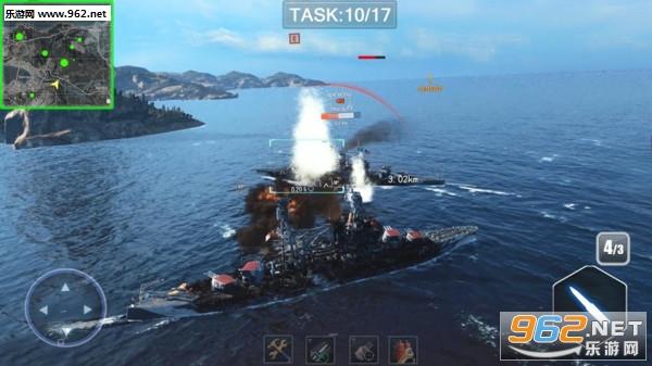 战舰猎杀巅峰海战最新中文破解版v1.0.1_截图0