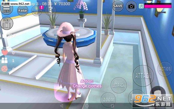 樱花校园模拟器最新圣诞版本全服饰解锁版v1.032.03截图3