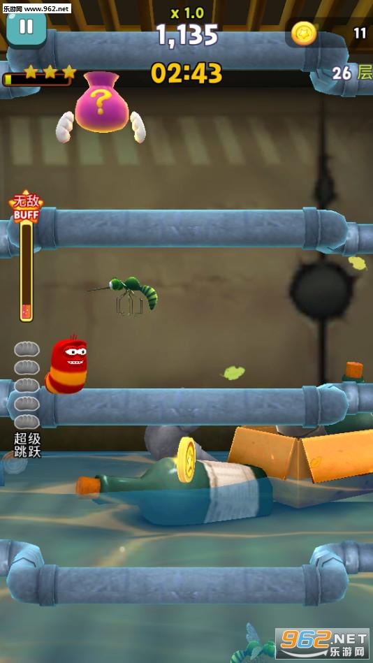 爆笑虫子飞翔安卓版v1.3.8_截图2
