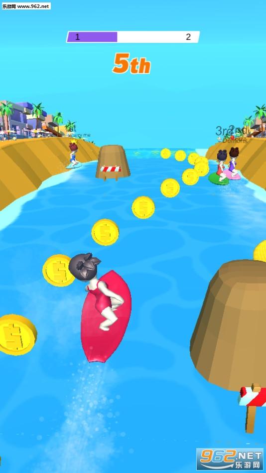 冲浪比赛安卓版v0.0.4_截图1