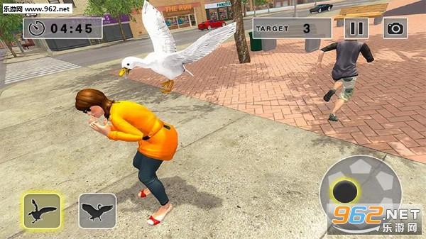 街头捣蛋鹅模拟器安卓版v1.0.3_截图0