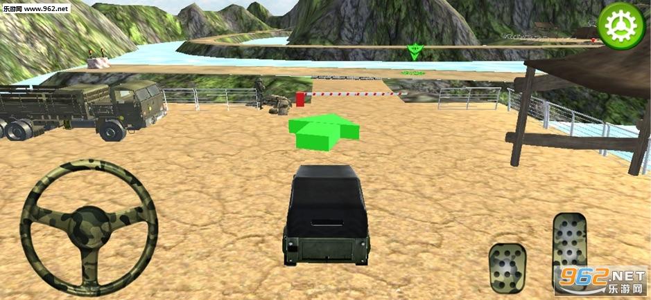 关路军队卡车模拟官方版v1.0_截图0