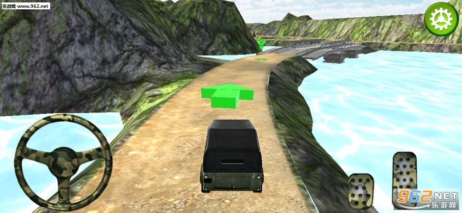 关路军队卡车模拟官方版v1.0_截图1