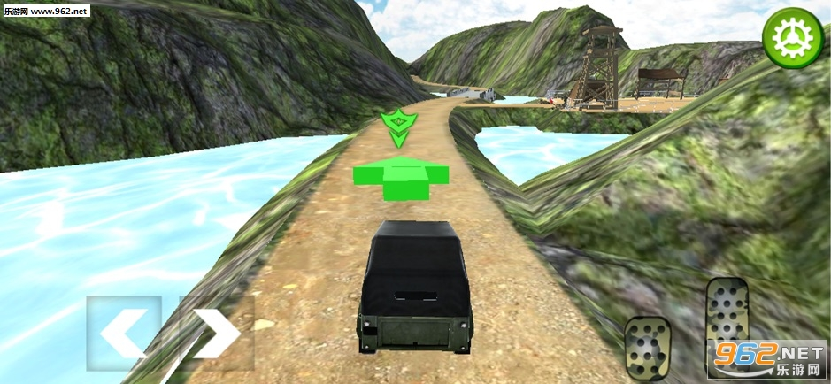 关路军队卡车模拟官方版v1.0_截图2