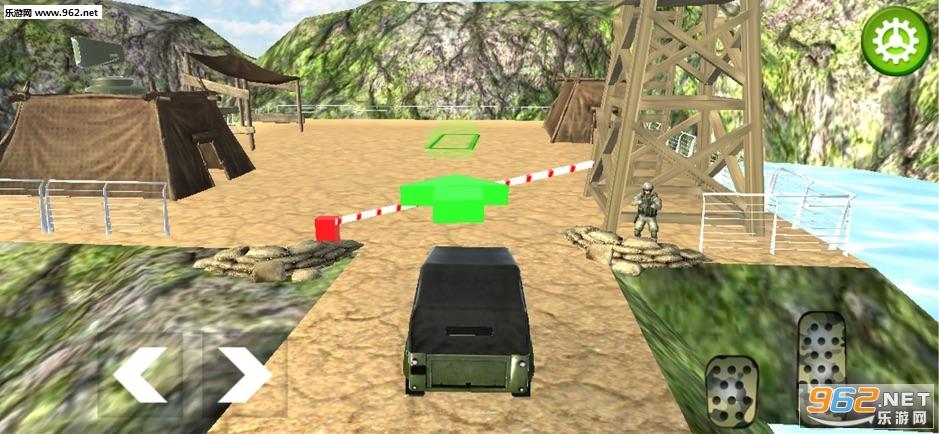 关路军队卡车模拟官方版v1.0_截图3
