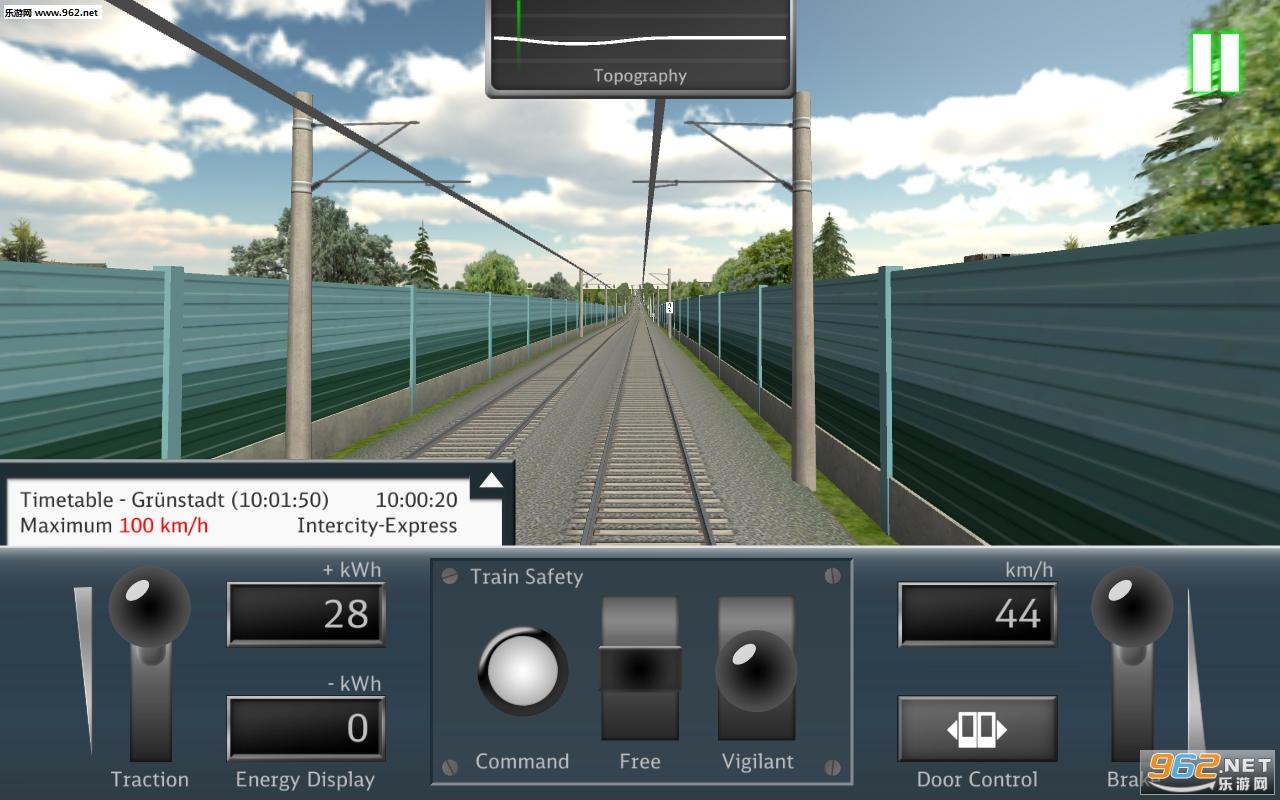 DB列车模拟器安卓版v1.6.2(DB Train Simulator)_截图3