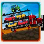 大卡车运小汽车游戏