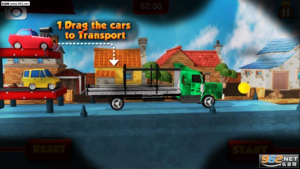 大卡车运小汽车游戏v2.6_截图2
