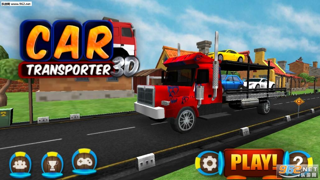 大卡车运小汽车游戏v2.6_截图3
