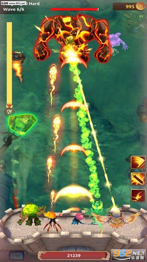 骑士战争空闲防御无限金币版游戏v1.0.2 正式版截图2