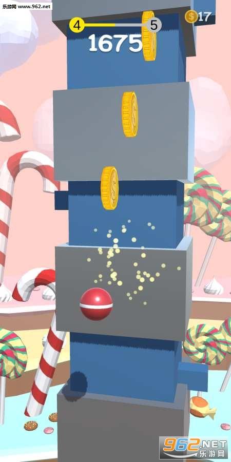 弹簧球安卓版v1.8(Pokey Ball)_截图1