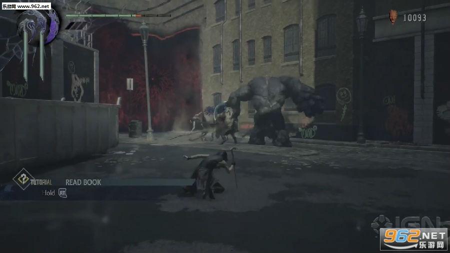 《鬼泣5》大量演示放出 新角色V十分钟战斗视频