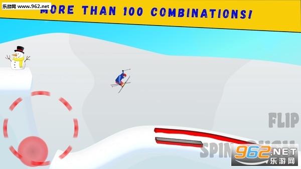 滑雪派对最新版v1.0(Twintip Ski)截图1
