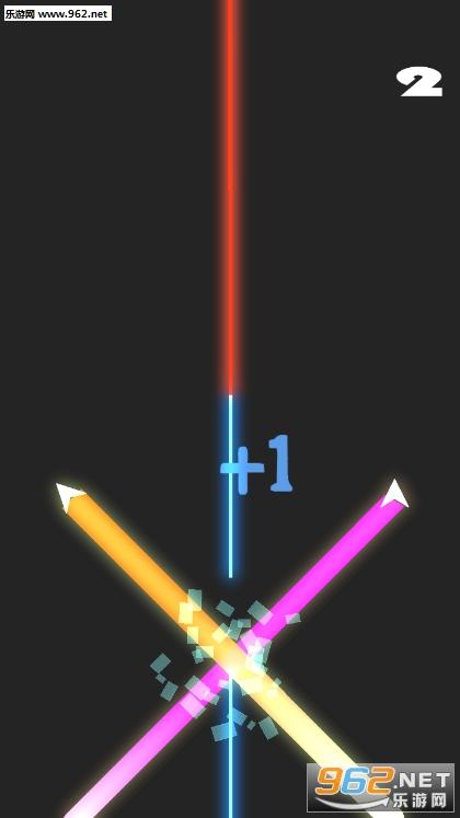 彩色障碍车道lane switch游戏v0.2_截图3