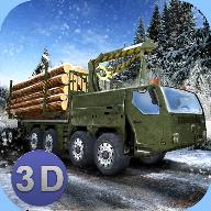 冬季木材卡车模拟安卓版