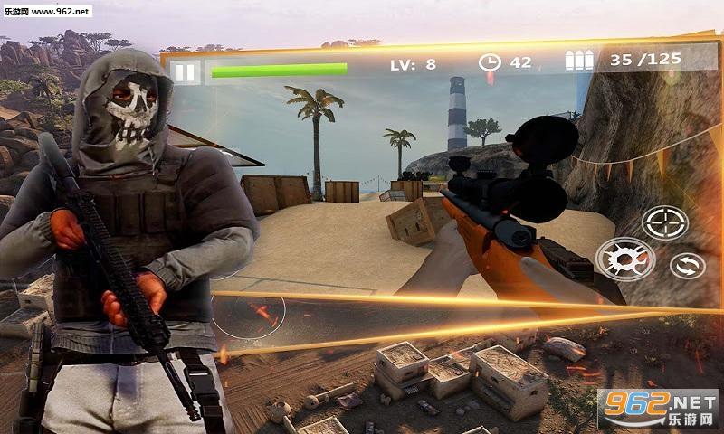狙击手3D刺客杀戮射击安卓版v1.0.7 官方版_截图2