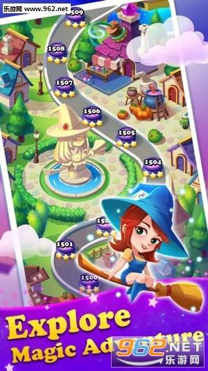 魔女宝石消消传奇(Gems Witch)官方版v1.1.1截图0