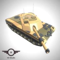 3D现代装甲坦克安卓版v1.2.0.4(Poly Tanks Massive Assault)