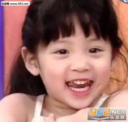 欧阳娜娜小时候萌照图片大全|欧阳娜娜小时候表情包图片