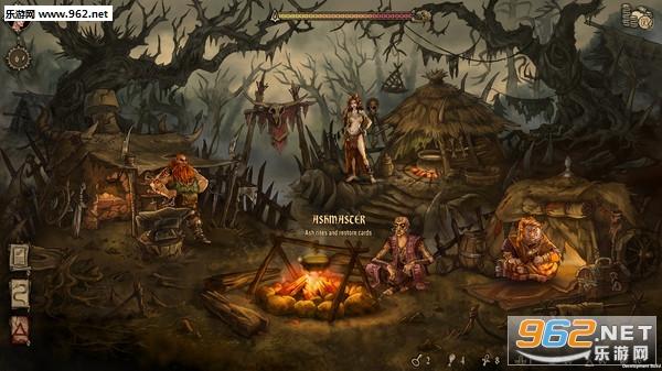 Deck of Ashes灰烬夹板Steam版截图1