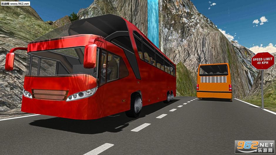 越野山地长途公共汽车驾驶模拟器官方版v2.2_截图0