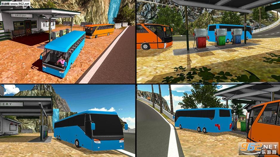 越野山地长途公共汽车驾驶模拟器官方版v2.2_截图2