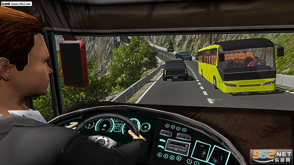 越野山地长途公共汽车驾驶模拟器官方版v2.2_截图3