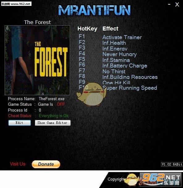 森林九项修改器Build3496148截图0