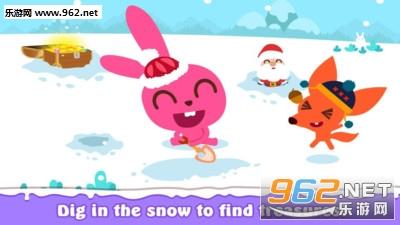 泡泡小镇下雪天游戏v1.0.1_截图1