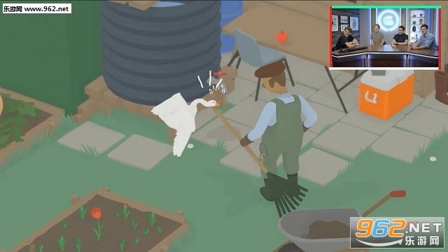 动物模拟游戏《捣蛋鹅》预告视频 今年下半年发售