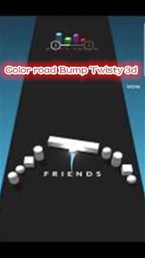 Color road Bump Twisty 3d手游