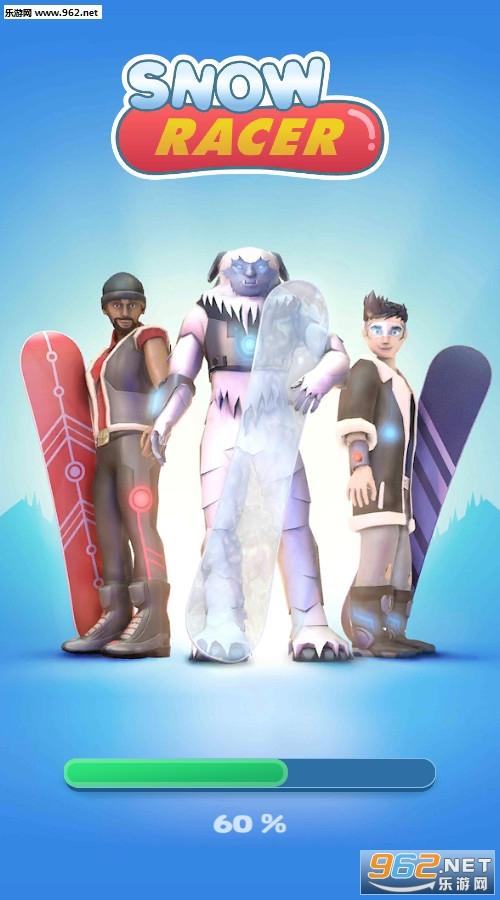 滑雪竞速登山赛安卓版