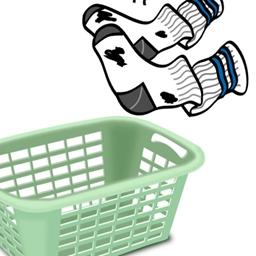 袜子和篮子游戏