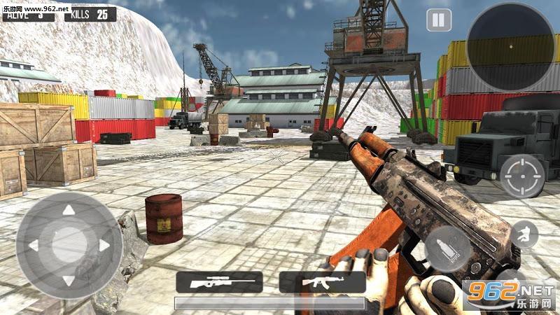 山地狙击手安卓版v0.2 (Mountain Sniper 3D Shooter)_截图2