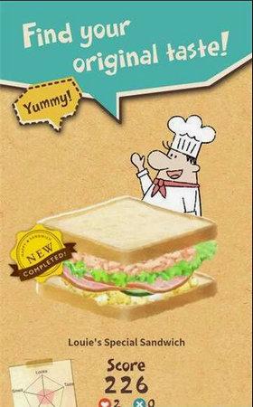 快乐三明治小餐厅中文版v1.1.5_截图0