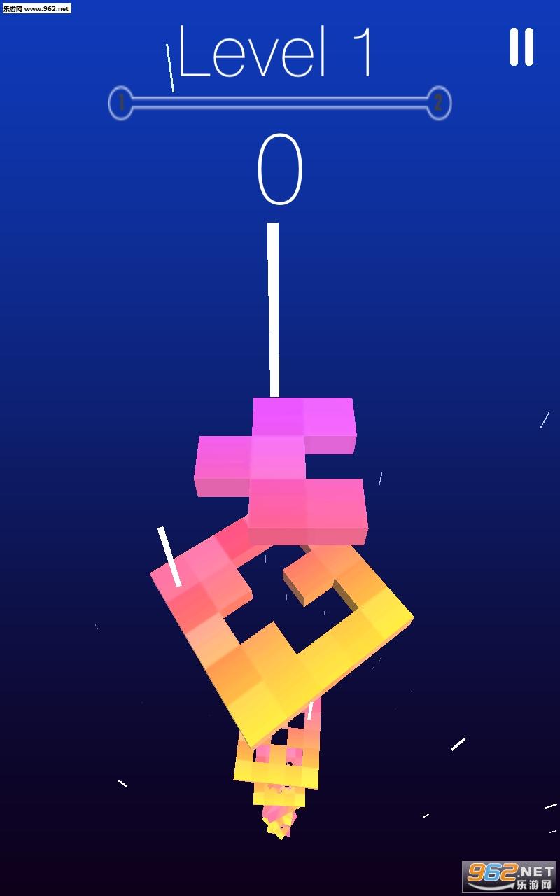旋转下降的形状安卓版v1.0(Rotate falling shapes)_截图0