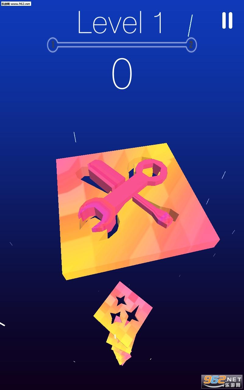 旋转下降的形状安卓版v1.0(Rotate falling shapes)_截图2