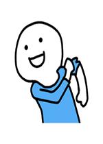 蓝衣小人表情包