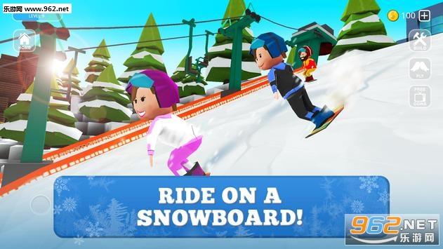 滑雪板世界安卓版(Snowboard Craft)v1.1_截图0