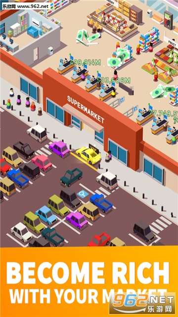 超市大赢家官方版(Idle Supermarket Tycoon)v1.1_截图1