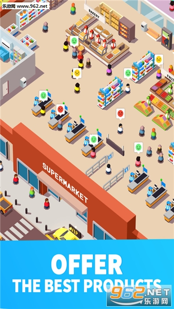 ���д�Ӯ�ҹٷ���(Idle Supermarket Tycoon)v1.1_��ͼ4