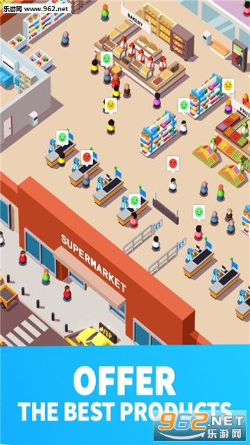 超市大赢家官方版(Idle Supermarket Tycoon)v1.1_截图4