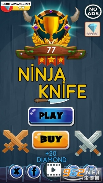 Ninja Knife Hit官方版
