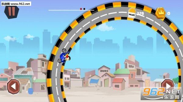 蜡笔小新特技赛车游戏v1.5截图1