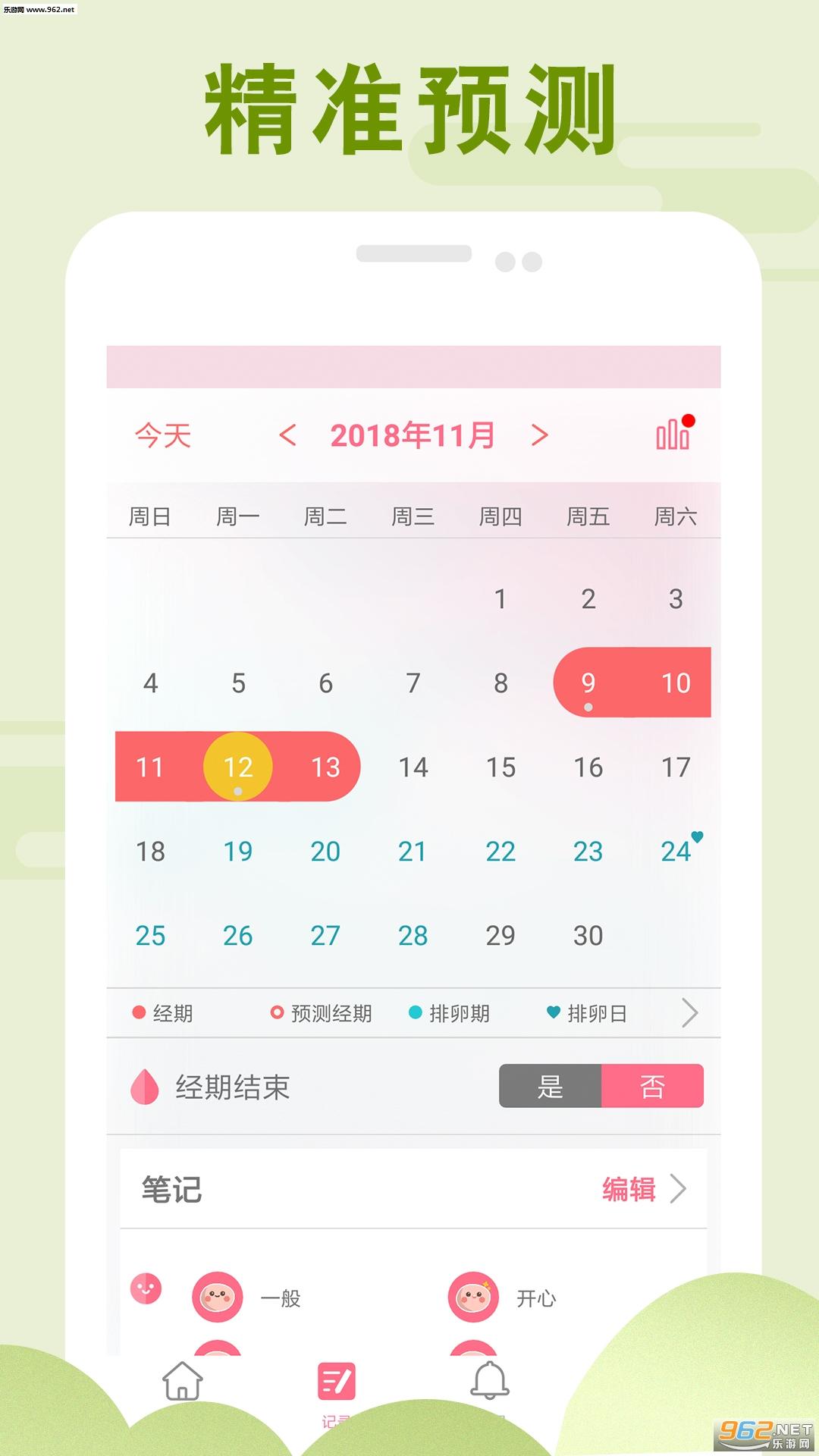 PinkBird月经期助手appv1.0_截图0