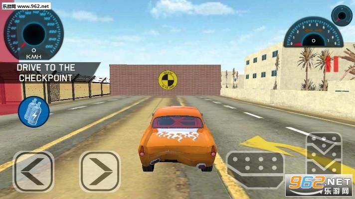 林肯汽车碰撞试验游戏v1.0(Lincoln Car Crash Test)_截图0