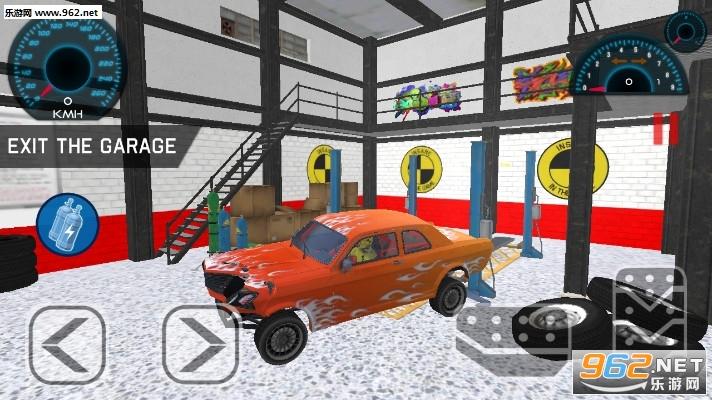林肯汽车碰撞试验游戏v1.0(Lincoln Car Crash Test)_截图1